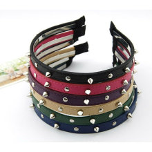 Moda Handmade Rivert Hairband / Headband Acessórios Cabelo Cabelo Clip Para Mulher BH03