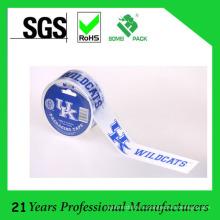 Логотип напечатан на основе растворителя лента упаковки bopp