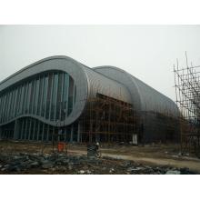 Panneau composé en aluminium pour le bâtiment de stade de cadre en acier