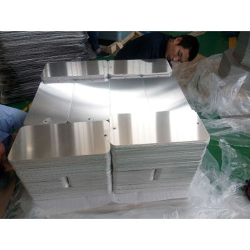 Esquinas pre-perforadas y radiales Retangle Aluminum Sign Blanks
