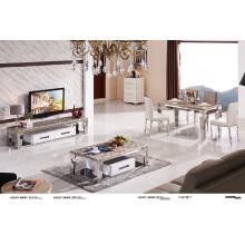 Top Table à manger en acier inoxydable Steen Home Furniture