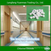 Hospitales Desinfección Cloruro Dióxido Tableta