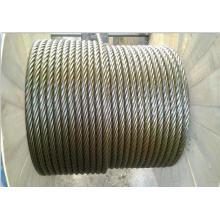 Corda de arame de aço não galvanizado de alta qualidade