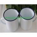 Sunboat Degree Scale Cup Baking Enamel Cup Enamel Milk Cup Tableware Kitchenware/ Kitchen Appliance