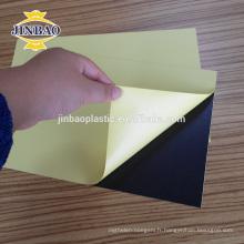 JINBAO Panneau de mousse plastique remplacer les feuilles de bois noir photobook