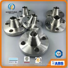 ASTM B16.5 forjó el reborde del cuello de la soldadura del acero inoxidable del RF (KT0371)