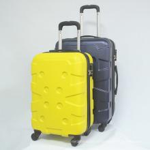 Les valises de glissière de chariot à coque dure d'ABS continuent