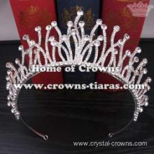 Unique Alloy Crystal Wedding Bridal Crowns