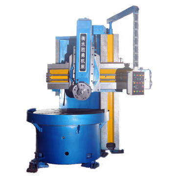 Auto feeding cnc vertical lathe machine