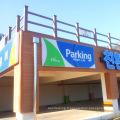 Panneaux de bardage de mur extérieurs décoratifs modernes chauds de ventes