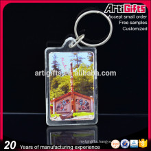 Promotional Custom Cartoon Acrylic Keychain With Logo