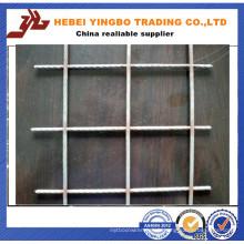 Construction en acier galvanisé solide en béton soudé