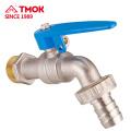 Blue handle Nickel plating brass bibcock Dn15