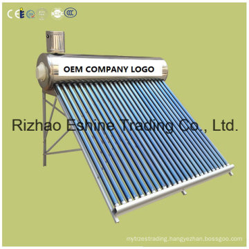 Intergrated Non-Pressure Solar Water Heater with Steel Outer Tank