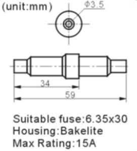FH-608-1 FUSE HOLDER