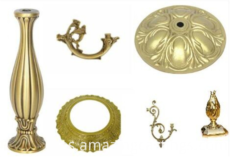 brass lamp part