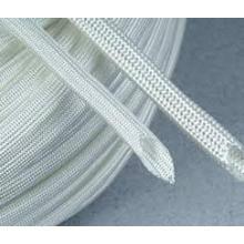 Cor branca de fibra de vidro Sleeving