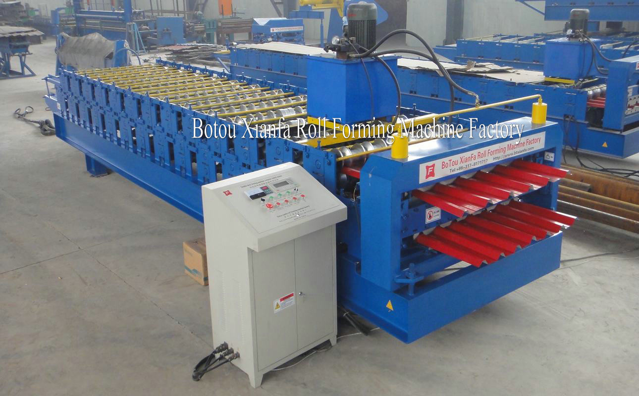 Roofing Tile IBR Machine