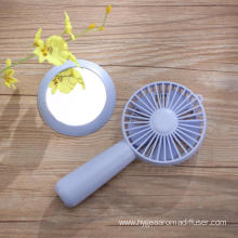 Portable Handheld USB Fan with Make Up Mirror