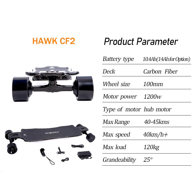 Hawk CF2 Parameter