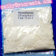 Metandienona oral CAS 72-63-9 para la ganancia muscular y la pérdida de peso