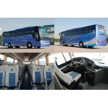 Sinotruk HOWO Diesel Tourist Bus with Gcc