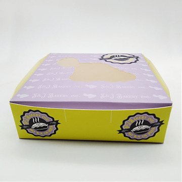 4C Drucken von White Card Paper Pies Window Box