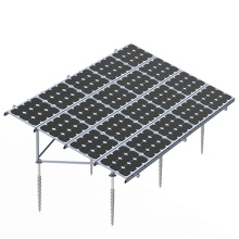 Quick Mount Solar Ground Mounting System With Ground Screw