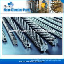 Лифтовой подъемник Тяговый канат стальной проволоки 8 * 19S + NF