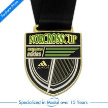 Custom Cheap Sport Award Marathon Gold Medal