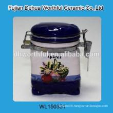 Promotion seal pot with fruit design