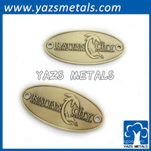 Custom Cheap Metal Brand Furniture Badge