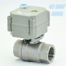 Válvula de encendido y apagado eléctrica en miniatura para el control de fugas de agua (T20-S2-B)