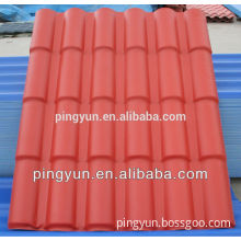 ASA layer Synthetic PVC Roofing Tile,Plastic Roofing Sheet,ASA Decorative Synthetic Resin Roof Tile