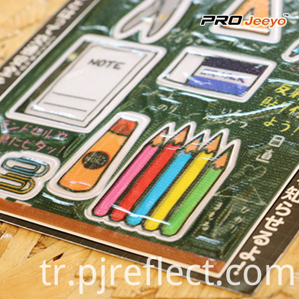 PVC Stationery Sticker