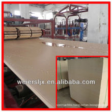 Hot! low price most professional wpc foam board making machine