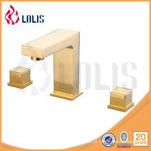 Bacia de lavatório de acessórios de banheiro de corpo de bronze (LLS06113G)