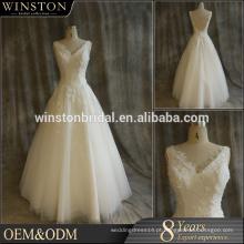 Forneça todos os tipos de roupas de vestido de noiva