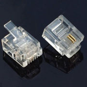 RJ11/RJ12 6P2C, mating cycle 750 operations, Telephone connector