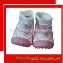 Suela de goma calcetín de bebé zapato