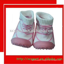 rubber outsole baby sock shoe