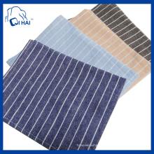 Serviette de cuisine 100% coton en fibre de coton teinté (QHK8812)