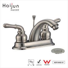 Haijun 2017 Cheap Modern cUpc Dual Handle Thermostatic Bathroom Faucets