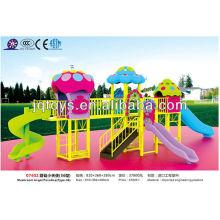 JS07402 Brinquedo plástico exterior de fitness Playground para crianças