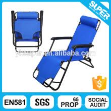 Cadeira de lazer ao ar livre cadeira dobrável confortável anti-gravidade dobrável