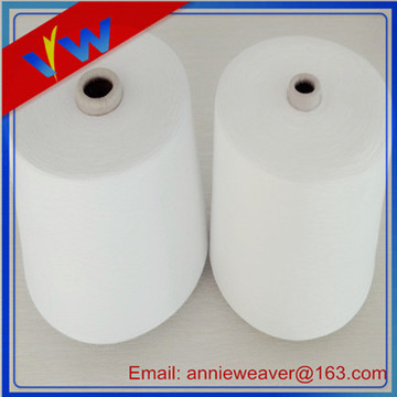 100% Polyester Yarn 42s /1 Semi Dull Virgin Quality