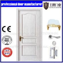 Puerta combinada de alta calidad para habitaciones de madera