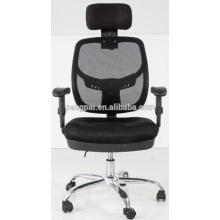 soft cushion office type supplied mesh computer chair with wheels