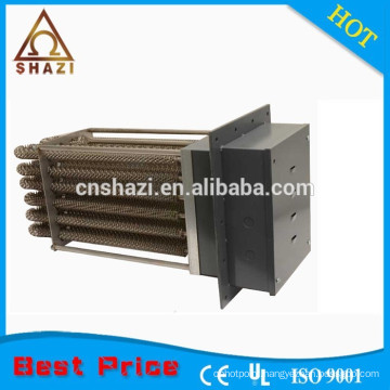 air heating systems electric finned tubular duct heater