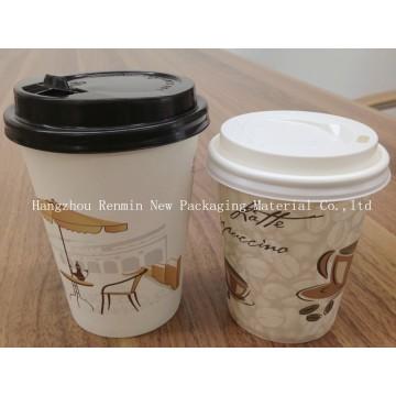 Kaffee-Pappbecher für heißes Trinken